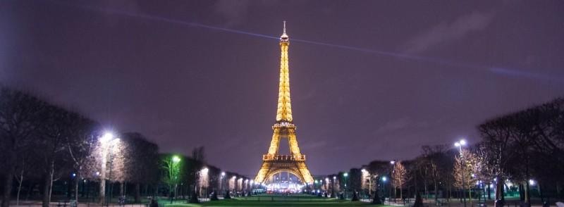 Париж дешевые билеты на Новый год