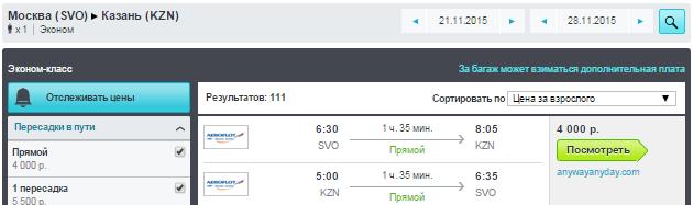 BudgetWorld|Аэрофлот. Большая распродажа билетов по России: от 3600 руб. [Прямые рейсы!]