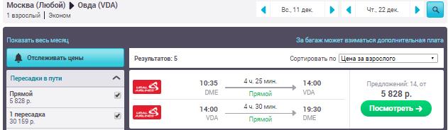 Москва - Овда - Москва