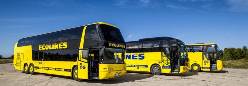 ecolines - дешевые билеты на автобус