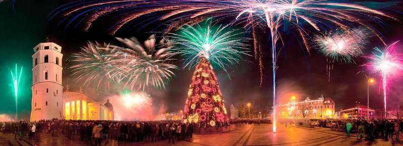 Вильнюс на Новый Год