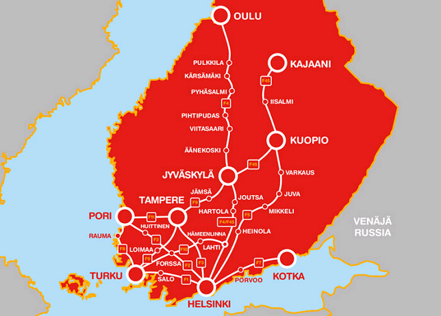 OnniBus. Автобусы по Финляндии за 2€