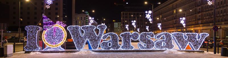 Варшава - дешевые авиабилеты на Новый год!