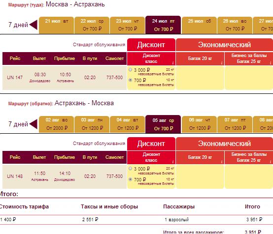 BudgetWorld|Трансаэро. Москва - Астрахань - Москва: 3950 руб. [прямые рейсы на Лето!]