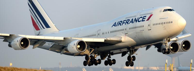 Air France - Онлайн регистрация, Проверка брони, Схемы салона