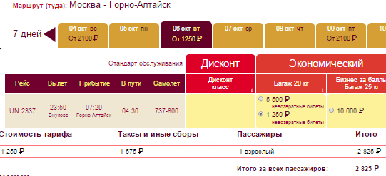 BudgetWorld Москва - Горно-Алтайск