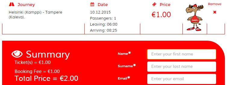 BudgetWorld|Onnibus. Билеты на автобус по Финляндии 2€