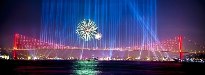 Стамбул на новый год