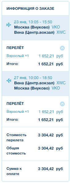 Победа. Москва - Братислава / Вена
