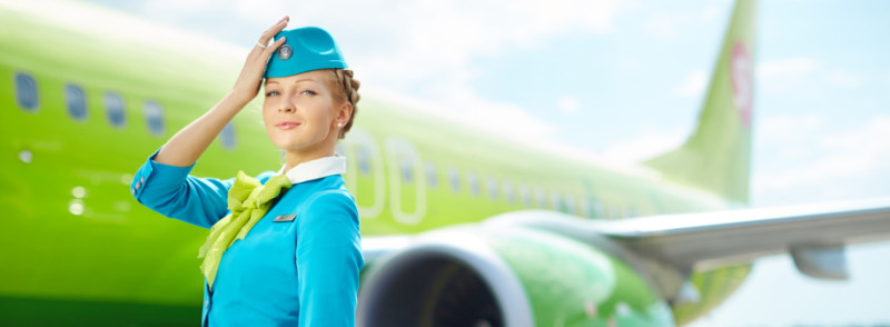 S7 - Схемы салонов самолетов, онлайн регистрация, проверка бронирования, перечень авиарейсов, авиакомпания в соцсетях