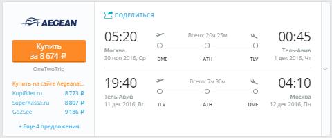 Москва - Тель-Авив - Москва
