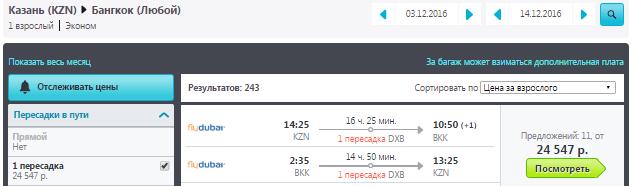 Казань - Бангкок - Казань