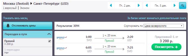 Москва — Питер - Москва