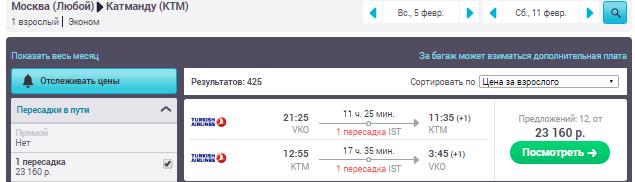 Москва - Катманду - Москва